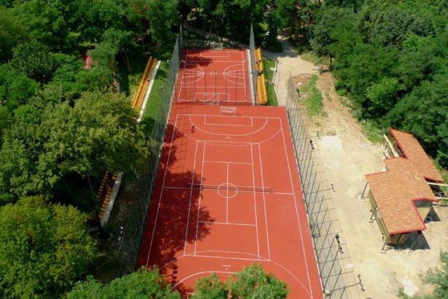 Multifunctional sports field